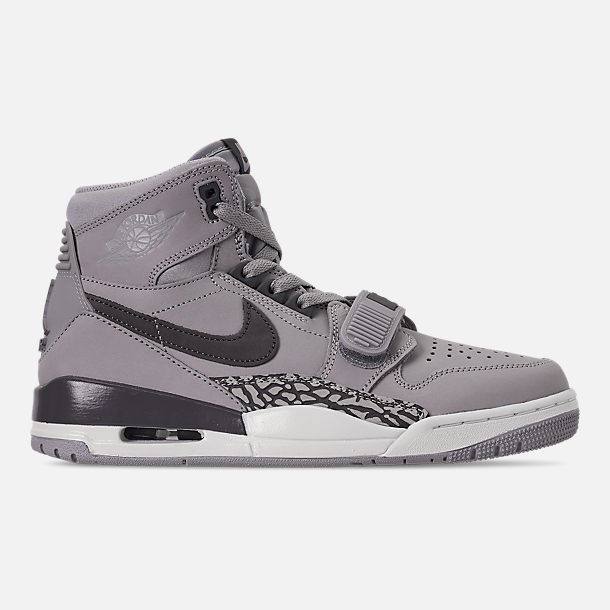 Right view of Men's Air Jordan Legacy 312 Off-Court Shoes in Wolf Grey/Graphite/Sail