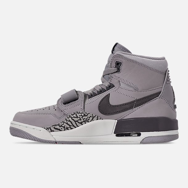 Left view of Men's Air Jordan Legacy 312 Off-Court Shoes in Wolf Grey/Graphite/Sail