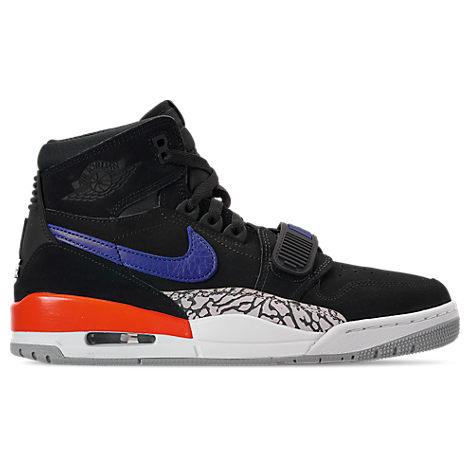 Nike Mens Air Jordan Legacy 312 Off-Court Shoes, Black