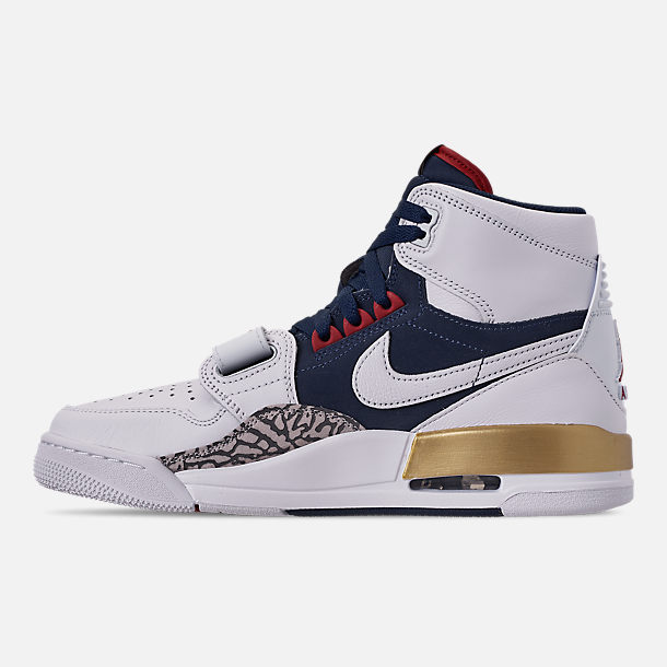 competitive price 71925 820e6 Left view of Men s Air Jordan Legacy 312 Off-Court Shoes in White White