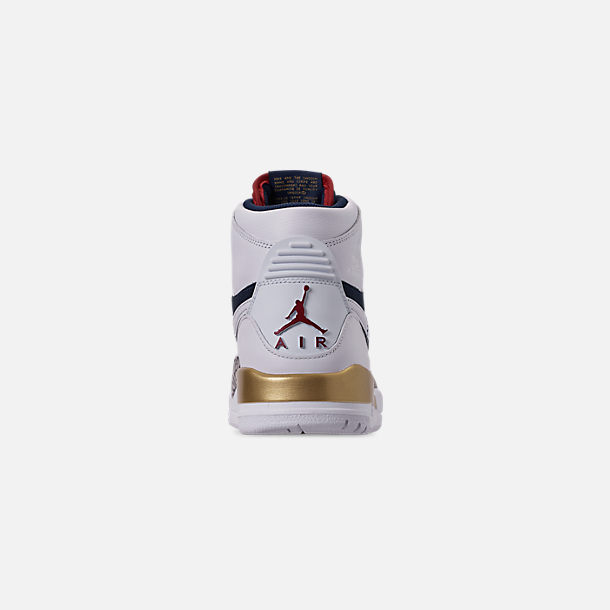 check out e2471 80f61 Back view of Men s Air Jordan Legacy 312 Off-Court Shoes in White White