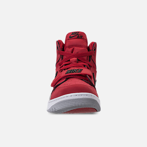 Front view of Men's Air Jordan Legacy 312 Off-Court Shoes in Varsity Red/White/Black