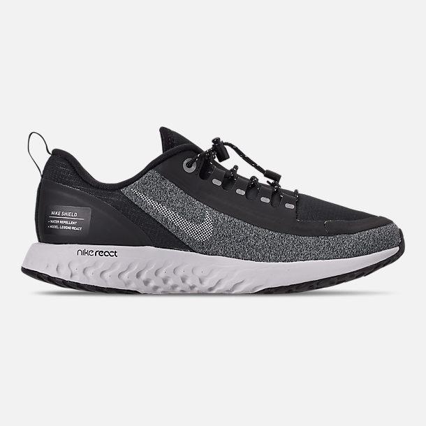 bdfdf29203648 Right view of Boys  Big Kids  Nike Epic React Shield Running Shoes in Black