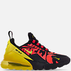Boys' Big Kids' Nike Air Max 270 Embroidered JDI Casual Shoes