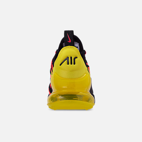 Back view of Boys  Big Kids  Nike Air Max 270 Embroidered JDI Casual Shoes 977886a0e
