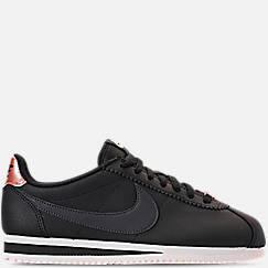 0d6c5d0f1e619a Women s Nike Classic Cortez Leather Metallic Casual Shoes