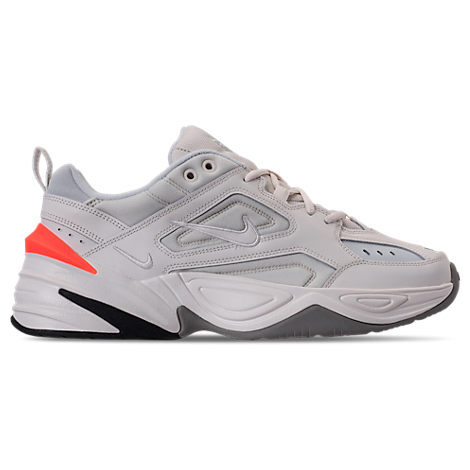 Nike Leathers MEN'S M2K TEKNO CASUAL SHOES, WHITE