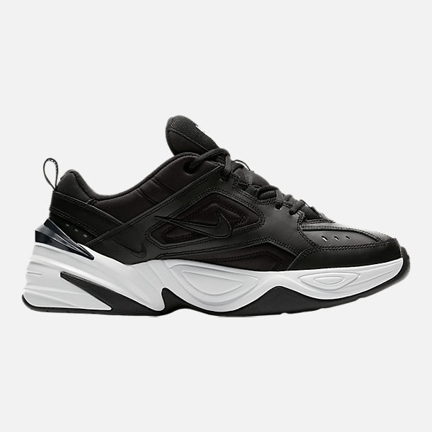 Right view of Men's Nike M2K Tekno Casual Shoes in Black/Black/Off White/Obsidian