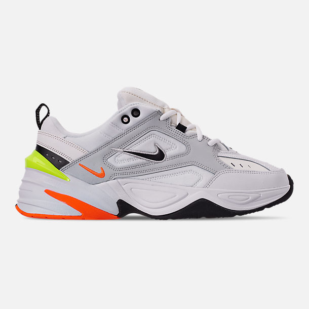 Right view of Men's Nike M2K Tekno Casual Shoes in Pure Platinum/Black/Sail/White