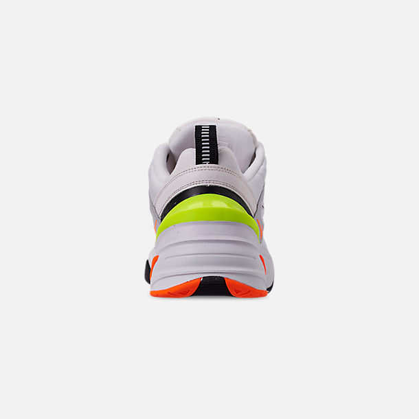 Back view of Men's Nike M2K Tekno Casual Shoes in Pure Platinum/Black/Sail/White