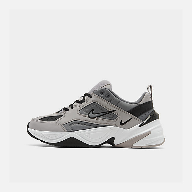Right view of Men's Nike M2K Tekno Casual Shoes in Atmosphere Grey/Cool Grey/Black/White