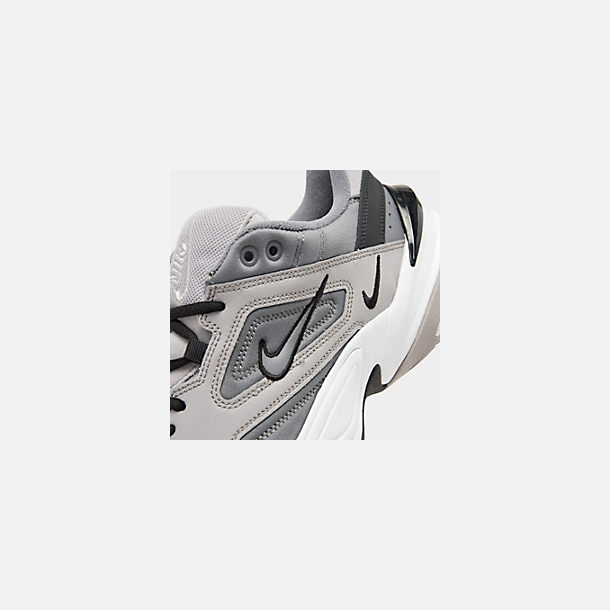 Front view of Men's Nike M2K Tekno Casual Shoes in Atmosphere Grey/Cool Grey/Black/White
