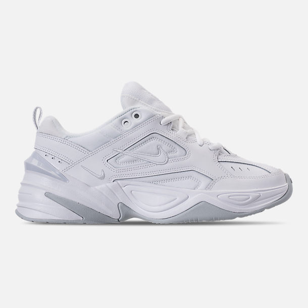 Right view of Men's Nike M2K Tekno Casual Shoes in White/Pure Platinum