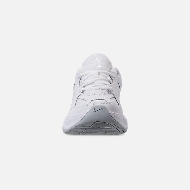 sports shoes dbaee 42486 Front view of Men s Nike M2K Tekno Casual Shoes in White Pure Platinum