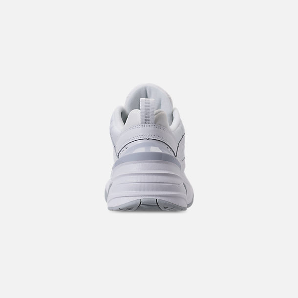hot sale online 953fc 35865 Back view of Men s Nike M2K Tekno Casual Shoes in White Pure Platinum