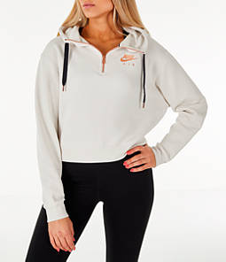 Women's Nike Sportswear Air Crop Half-Zip Hoodie
