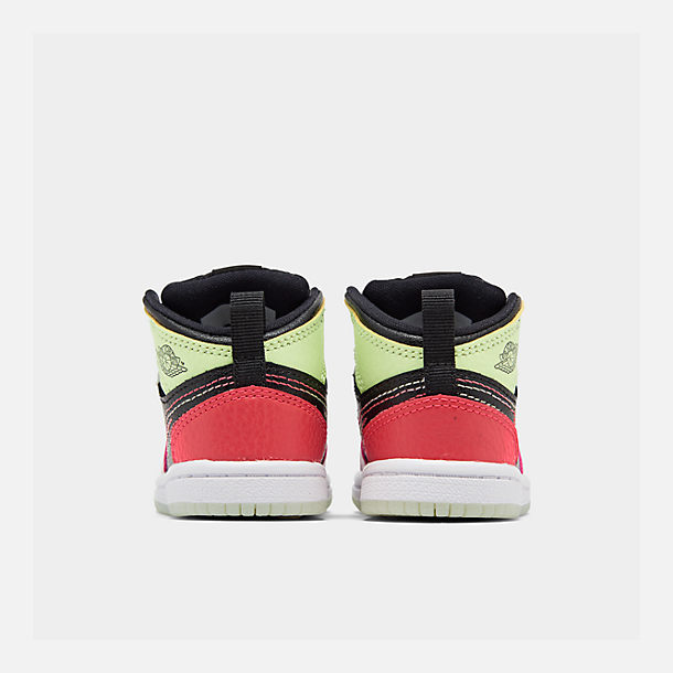 buy online f14ce ab915 Girls' Toddler Air Jordan 1 Mid Casual Shoes
