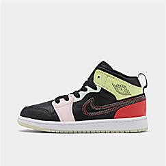 Girls' Little Kids' Air Jordan 1 Mid SE Casual Shoes