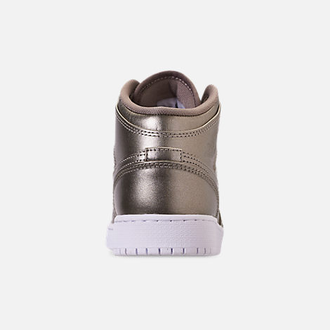 online store 5438d 07471 Back view of Girls  Big Kids  Air Jordan 1 Mid SE Casual Shoes in