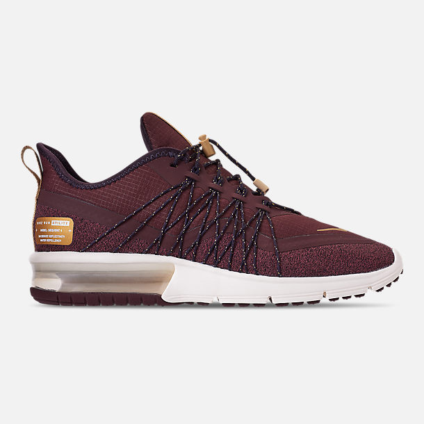 Right view of Women s Nike Air Max Sequent 4 Casual Running Shoes in  Burgundy Crush  54bb2fff8