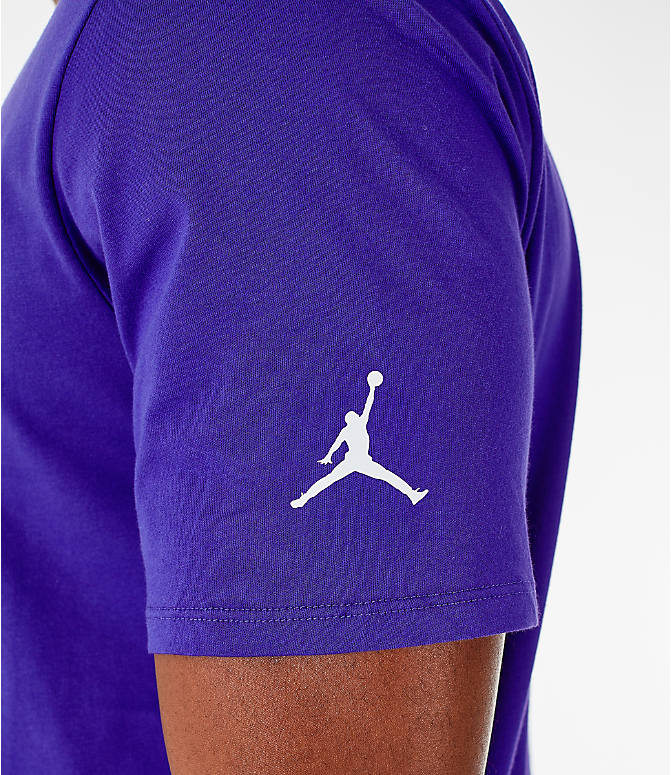 Detail 2 view of Men's Jordan Sportswear Greatest T-Shirt in Germain Blue