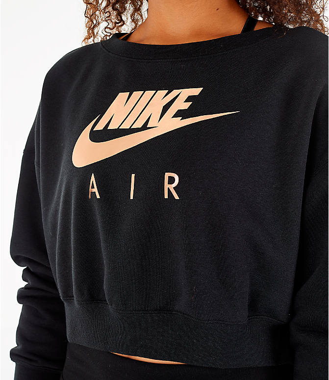 Detail 1 view of Women's Nike Sportswear Rally Crew Sweatshirt