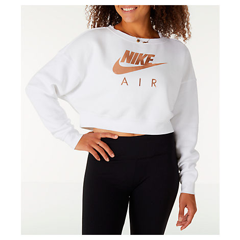 9d50367456a808 Nike Women's Sportswear Rally Crew Sweatshirt, White | ModeSens