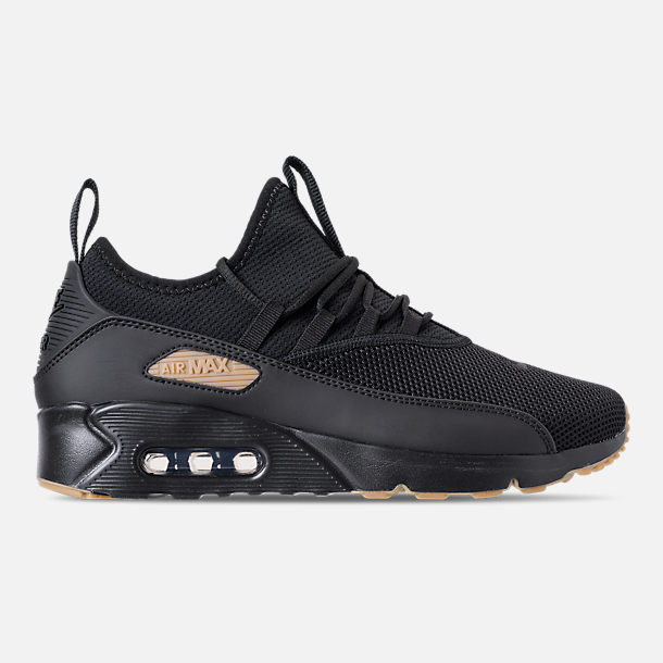 Right view of Men s Nike Air Max 90 EZ Casual Shoes in Black Gum Light aae9a2944373