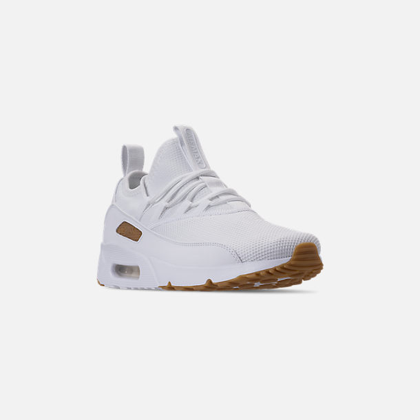 timeless design a6325 bb111 Three Quarter view of Men s Nike Air Max 90 EZ Casual Shoes in White Gum