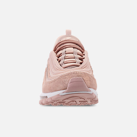 Front view of Women's Nike Air Max 97 Special Edition Casual Shoes in Particle Beige/Summit White/Metallic Bronze
