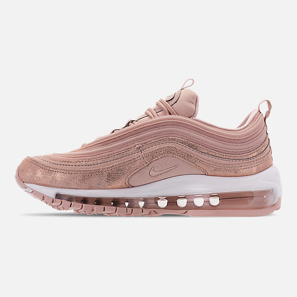 Left view of Women's Nike Air Max 97 Special Edition Casual Shoes in Particle Beige/Summit White/Metallic Bronze