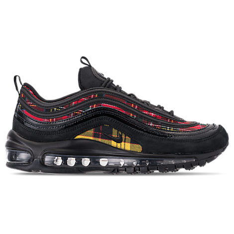 Women'S Air Max 97 Se Tartan Casual Shoes, Black