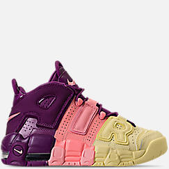 Girls' Grade School Nike Air More Uptempo SE Basketball Shoes