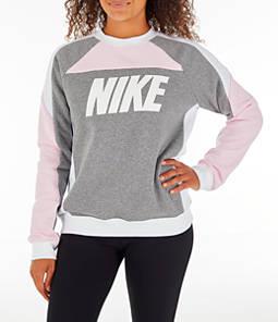 b67ed75e024 Women s Nike Sportswear Fleece Crew Sweatshirt