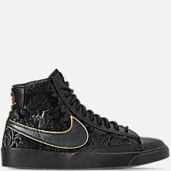 Women's Nike Blazer Mid Metallic Casual Shoes