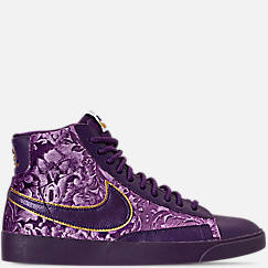 Women's Nike Blazer Mid Metallic Casual Shoes