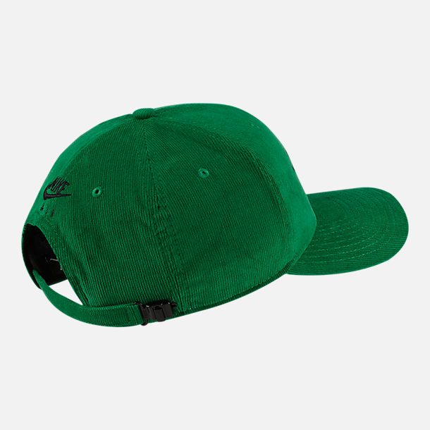 Back view of Jordan Classic99 Wings Adjustable Back Hat in Pine Green