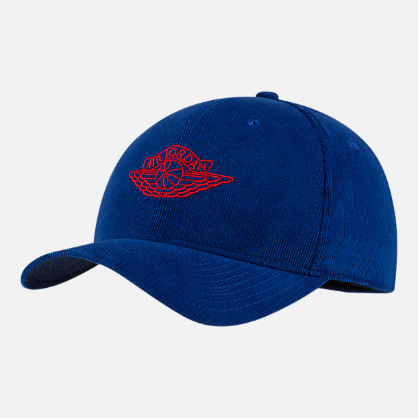 Front view of Jordan Classic99 Wings Adjustable Back Hat