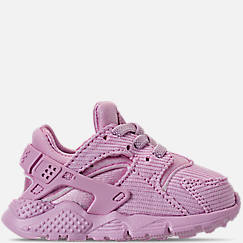 Girls' Toddler Nike Huarache Run Premium Casual Shoes