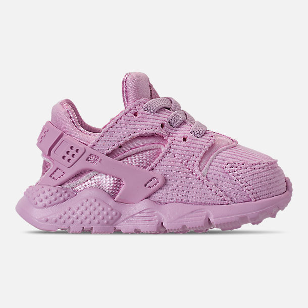 best service ff02d 2bebd Right view of Girls  Toddler Nike Huarache Run Premium Casual Shoes in  Light Arctic Pink