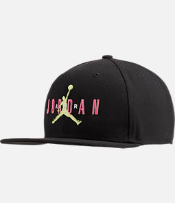 e65aea93804 Jordan Dri-FIT Pro Jumpman Air HBR Snapback Hat