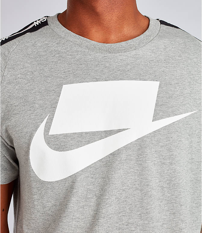 Detail 1 view of Men's Nike Sportswear NSW T-Shirt in Dark Grey