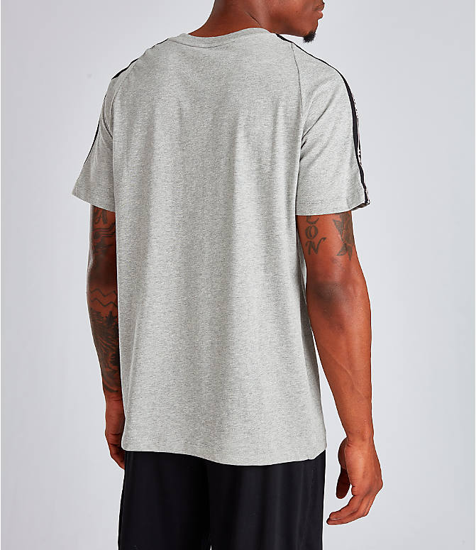 Back Right view of Men's Nike Sportswear NSW T-Shirt in Dark Grey