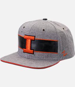 Zephyr Illinois Fighting Illini College Avenue Snapback Hat