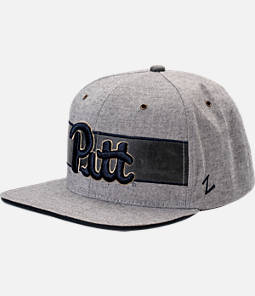 Zephyr Pitt Panthers College Avenue Snapback Hat
