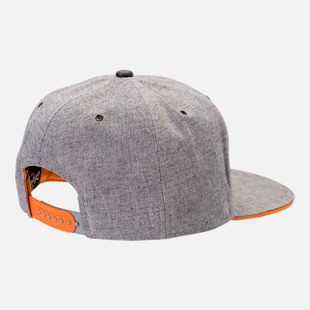 Back view of Zephyr Tennessee Volunteers College Avenue Snapback Hat in Team Colors