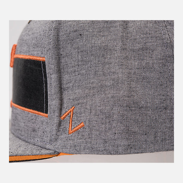 Alternate view of Zephyr Tennessee Volunteers College Avenue Snapback Hat in Team Colors