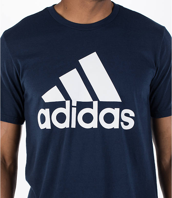 Detail 1 view of Men's adidas Badge of Sport Classic T-Shirt in Royal