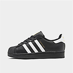 adidas superstar kids zwart