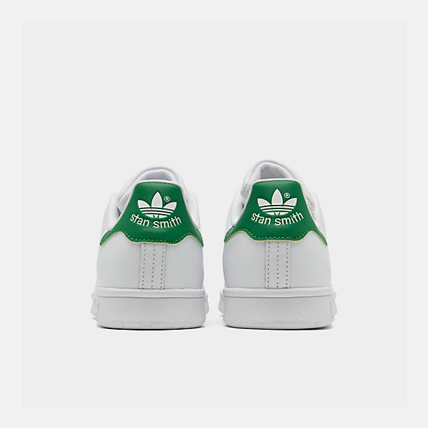 Left view of Women's adidas Originals Stan Smith Casual Shoes in GRN